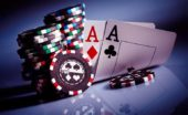 Poker: aces and chips