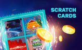 Scratch cards and coins